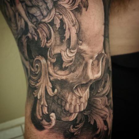 Ryan Townsend - Skull Tattoo