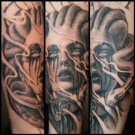 Ryan Townsend - Medusa Tattoo