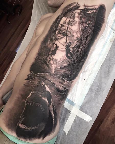 Tattoos - Shark attack - 113673
