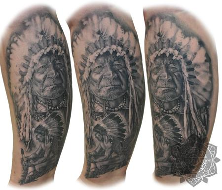 Tattoos - Native American - 122799