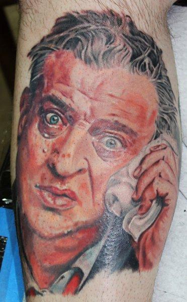 Rodney dangerfield by david dettloff tattoonow for Ink lab tattoo
