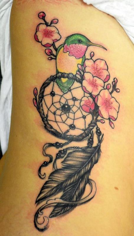 Dreamcatcher tattoo by gigi mcqueen tattoonow gigi mcqueen dreamcatcher tattoo gumiabroncs Image collections