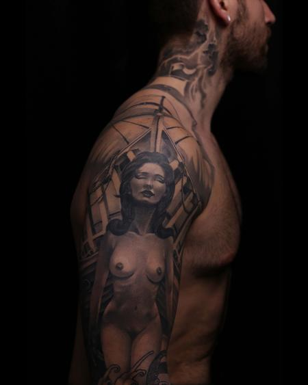 Tattoos - Figurehead of the Wanderlust - 134448