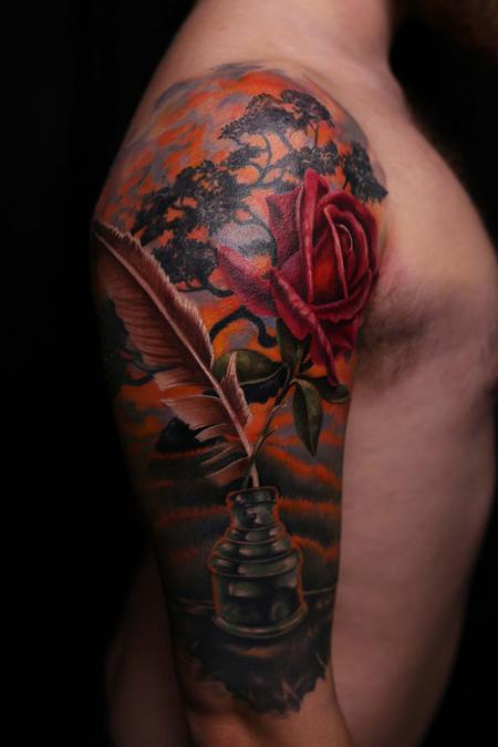 Tattoos - Memorial at the Binding Tree - 134446