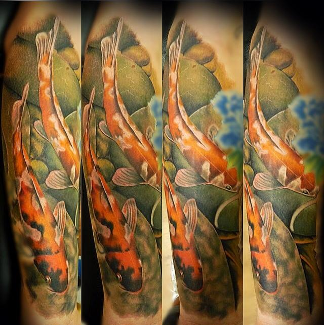 ad380c770d953 Custom Koi Fish, realistic style by Rakhee Shah: TattooNOW :