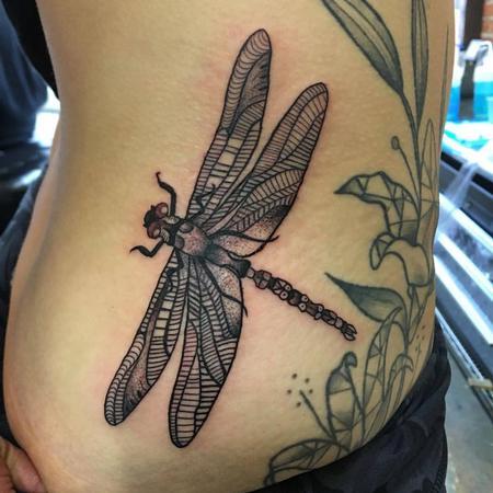 Tattoos - Dragon Fly Tattoo - 129056
