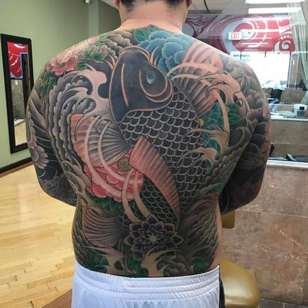 Chad Pelland - Backpiece
