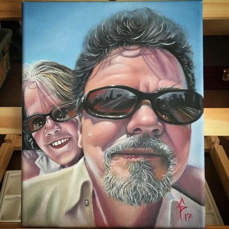 Chad Pelland - Family painting