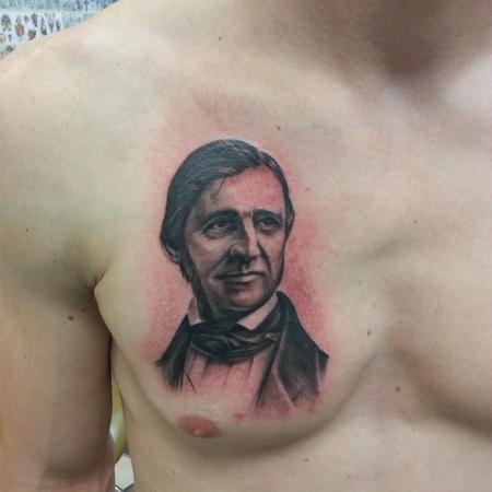 Chad Pelland - Portrait on Chest