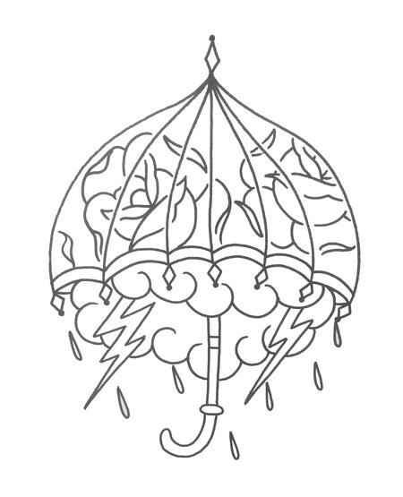 Lazlow - Line drawing