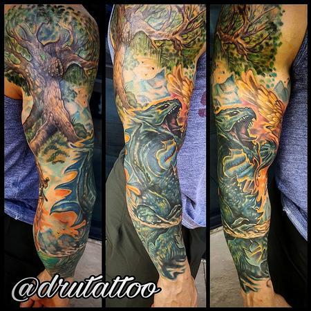 Tattoos - Custom Sleeve - 130227