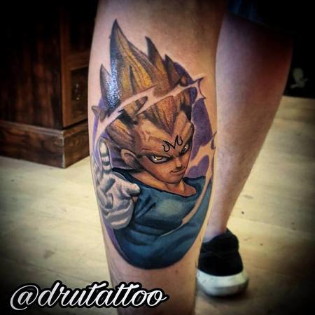 Tattoos - DBZ - 130222