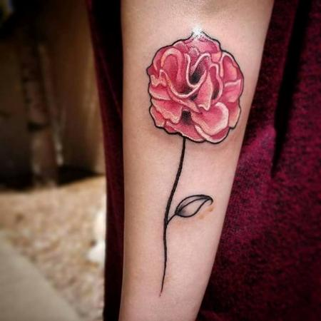 Tattoos - Carnation - 130676