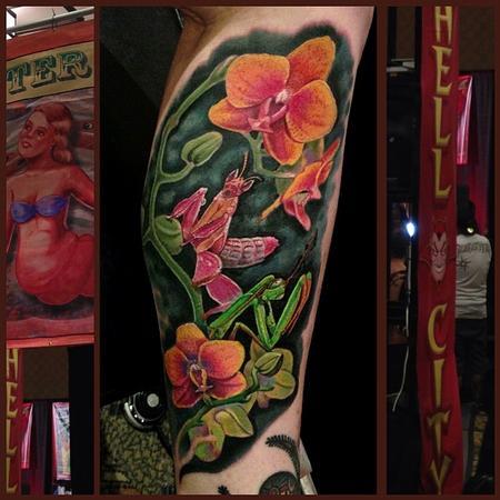 Tattoos - Orchid Mantis - 79715