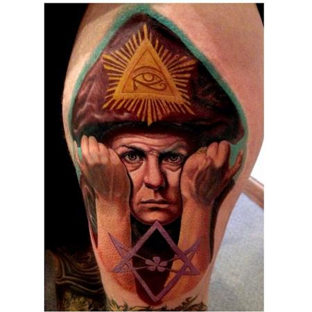 Tattoos - Aleister Crowley - 84072