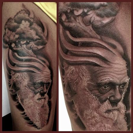 Tattoos - Charles Darwin  - 79794