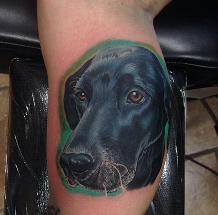 Tattoos - Dog portrait  - 89925