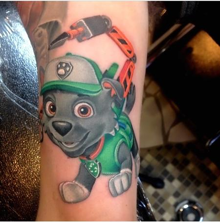 Tattoos - Rocky from Paw Patrol - 93871