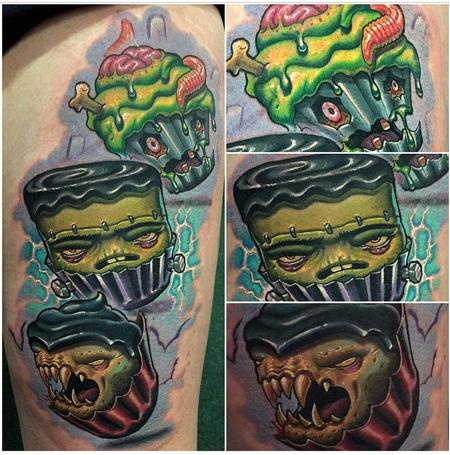 Tattoos - Monster Cupcakes - 95837