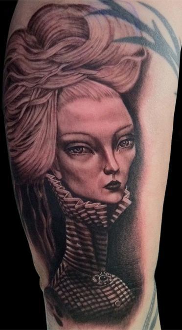 Tattoos - Lori Early painting - 55966