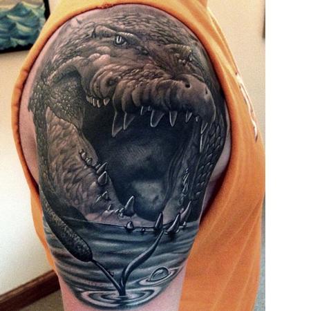 Tattoos - Alligator - 82896