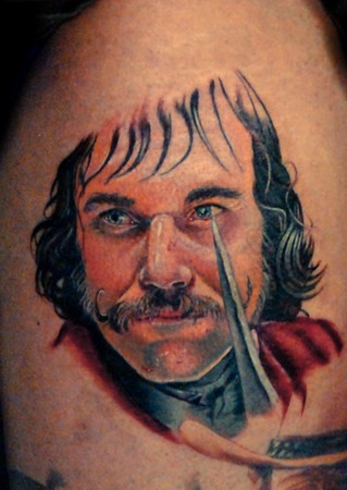Tattoos - Daniel Day Lewis as Bill the Butcher from Scorsese's