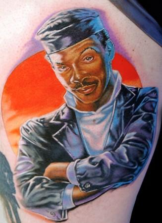 Tattoos - Eddie Murphy as The Golden Child - 42997