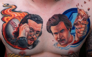 Tattoos - Kenny Powers and Ron Burgundy - 48730