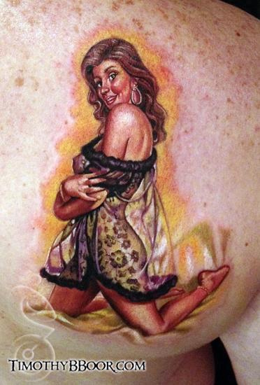 Tattoos - Wife pinup - 66048
