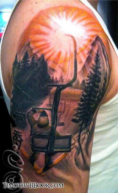 Tattoos - Ski Lift - 67268
