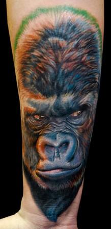 Tattoos - Gorilla  - 42970