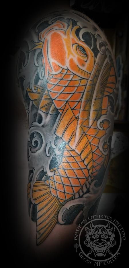 Japanese Koi Fish Tattoo Design Thumbnail