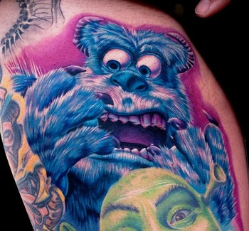 Cecil Porter Illustration : Tattoos : Realistic :