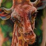 Tattoos - Giraffe - 129663