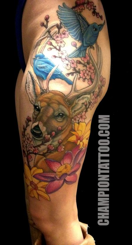 Tattoos - Forest - 107853