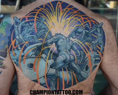 Tattoos - Mech Men - 107943
