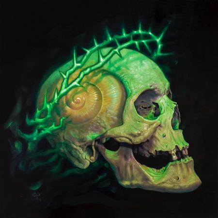 Shell Skull with Crown of Thorns  Art Thumbnail
