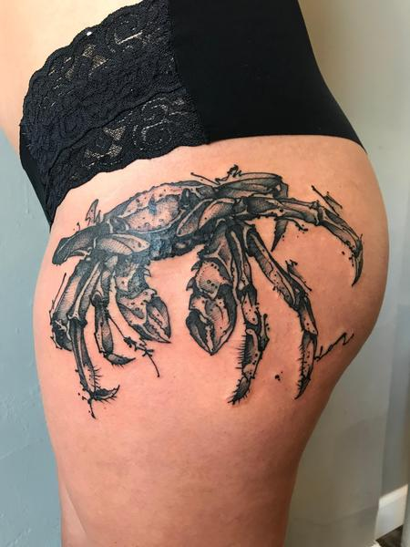 Crab Tattoo Design Thumbnail