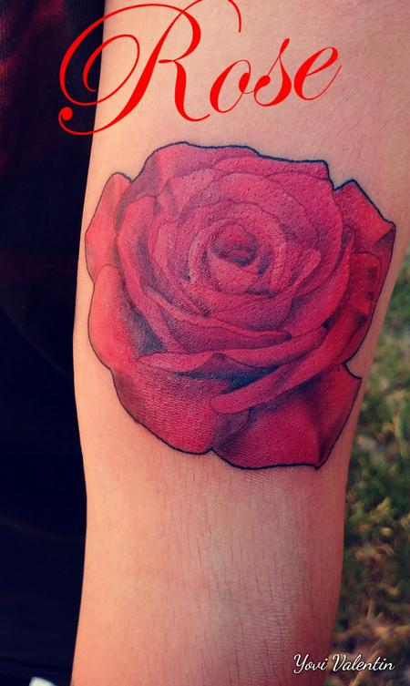 Tattoos - Rose Tattoo - 134157