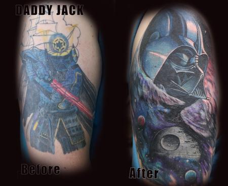 Tattoos - Darth Vader  - 127655