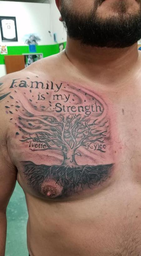 Tattoos - Family is my Strength - 136060