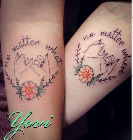 Matching Mother/Daughter Tattoos Design Thumbnail