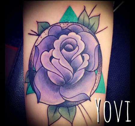 Purple Rose Design Thumbnail