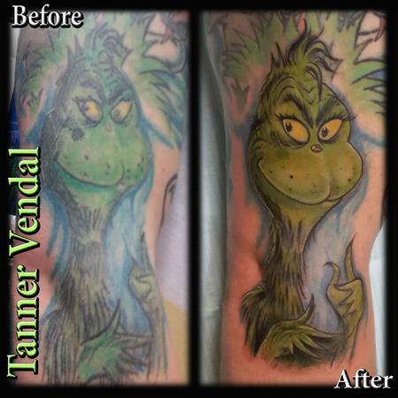 Tattoos - Grinch Rework - 131623