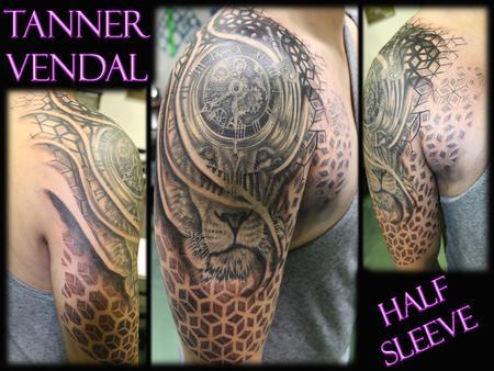 Tattoos - Custom Half Sleeve - 130998