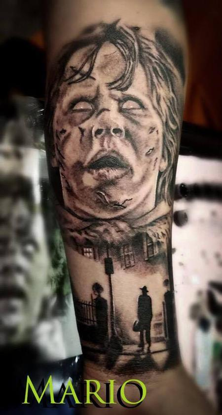 Tattoos - Exorcist forearm piece - 134915