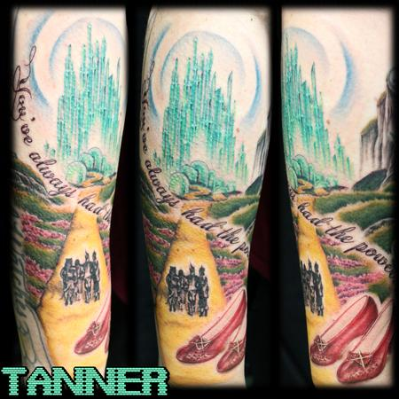 Tattoos - Follow The Yellow Brick Road - 131621