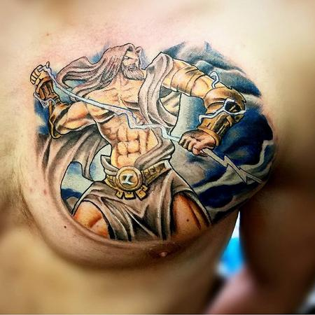 Tattoos - God of Lightning by Mario - 132687