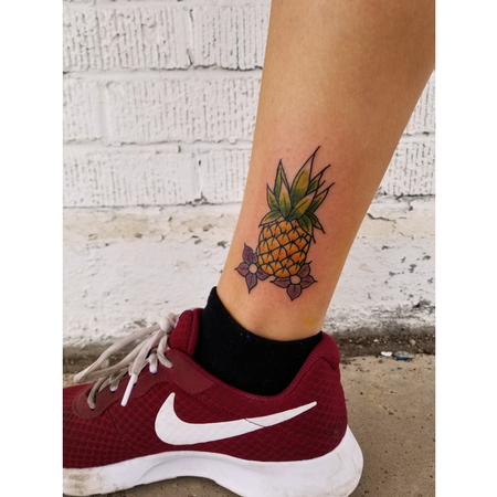 Tattoos - Traditional Pineapple - 135032