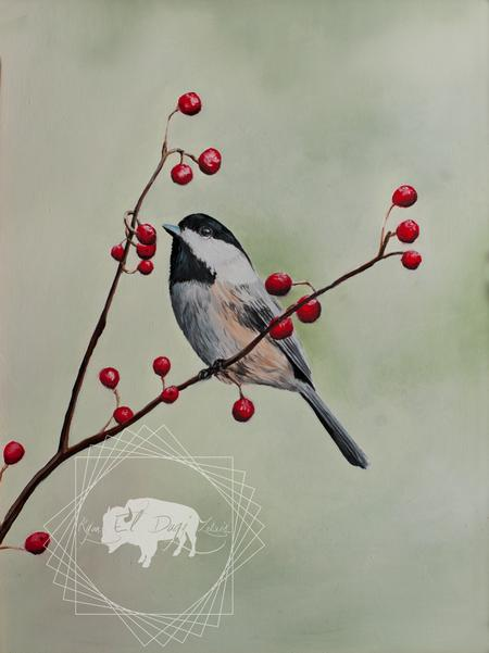 Ryan El Dugi Lewis - Chickadee anf Berries